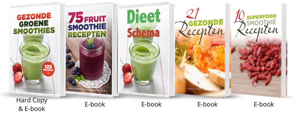 eengezondleven.be 5 gezonde recepten boeken heerlijke gezonde groene smoothie recepten